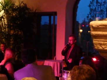 Paul Williams performs at Anthony Lienau's Birthday