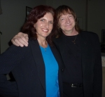 Robin Kelly with Chris Caswell